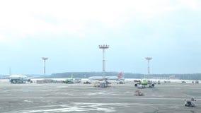 Aeroporto 03 de Rússia, Moscou Aeroflot 03 17 filme