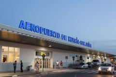 Aeroporto de San Javier em Múrcia, Espanha Fotos de Stock Royalty Free