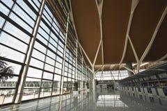Aeroporto de Shanghai Pudong fotografia de stock royalty free