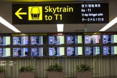 Aeroporto de Singapore Changi Imagens de Stock Royalty Free