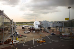 Aeroporto de Singapore Changi Imagem de Stock Royalty Free