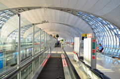 Aeroporto de Suvarnabhumi Banguecoque Imagem de Stock Royalty Free