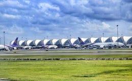 Aeroporto de Suwannapomi Fotografia de Stock