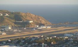 Aeroporto de Wellington, Nova Zelândia imagem de stock royalty free