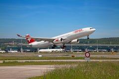 Aeroporto de Zurique Fotografia de Stock