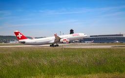 Aeroporto de Zurique Foto de Stock