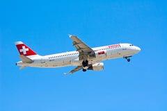 Aeroporto de Zurique Fotos de Stock Royalty Free