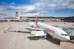Aeroporto de Zurique Foto de Stock Royalty Free