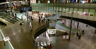 Aeroporto de Zurique, Suíça Fotografia de Stock