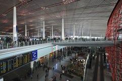 Aeroporto del capitale di Pechino Immagini Stock