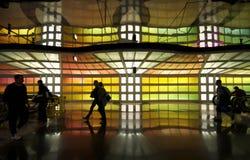 Aeroporto del Chicago O'Hare immagini stock libere da diritti