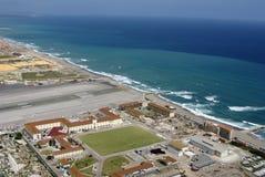 Aeroporto della Gibilterra immagini stock libere da diritti