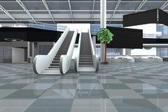 Aeroporto dentro Immagine Stock Libera da Diritti