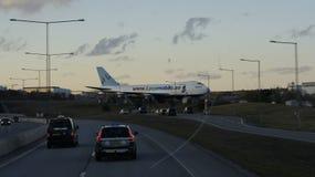 Aeroporto di Arlanda Fotografie Stock