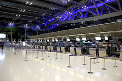 Aeroporto di Bangkok Immagine Stock
