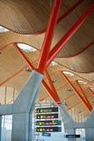 Aeroporto di Barajas Fotografia Stock
