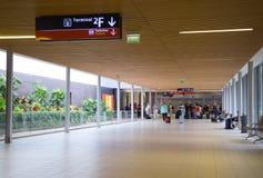Aeroporto di Charle de gaulle Fotografie Stock Libere da Diritti