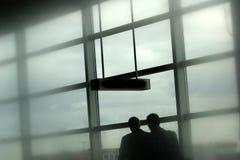 Aeroporto di corsa Immagini Stock Libere da Diritti