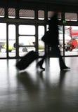 Aeroporto di corsa Immagini Stock