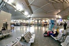 Aeroporto di Costantinopoli Atatürk - registrazione Fotografia Stock Libera da Diritti