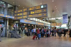 Aeroporto di Cracovia Immagini Stock Libere da Diritti