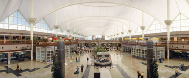 Aeroporto di Denver Fotografia Stock Libera da Diritti
