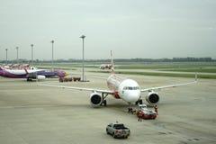 Aeroporto di Don Meung a Bangkok, Tailandia immagini stock libere da diritti