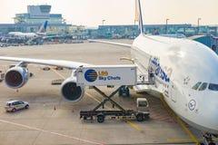Aeroporto di Francoforte Fotografia Stock Libera da Diritti