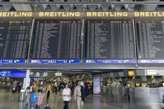 Aeroporto di Francoforte internazionale Fotografie Stock Libere da Diritti