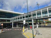 Aeroporto di Funchal sull'isola del Madera nell'Oceano Atlantico fotografia stock libera da diritti