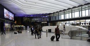 Aeroporto di Heathrow - terminale 2 Immagini Stock