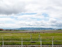 Aeroporto di Itami nel Giappone immagini stock