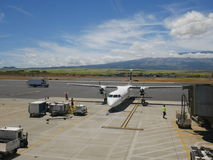 Aeroporto di Kahului, Maui, Hawai, U.S.A. Fotografia Stock Libera da Diritti