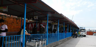 Aeroporto di Kathmandu Fotografia Stock Libera da Diritti