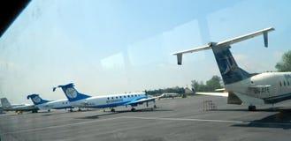 Aeroporto di Kathmandu Fotografia Stock