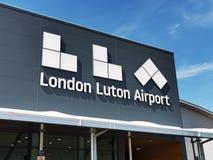 Aeroporto di Londra Luton immagine stock libera da diritti
