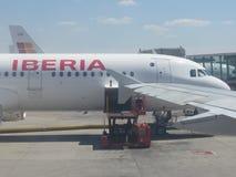 Aeroporto di Madrid Fotografia Stock