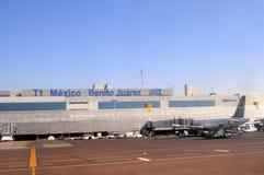 Aeroporto di Messico City Fotografie Stock Libere da Diritti
