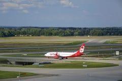 Aeroporto di Monaco di Baviera, Baviera, Germania Fotografie Stock Libere da Diritti