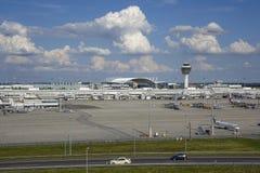 Aeroporto di Monaco di Baviera, Baviera, Germania Immagini Stock Libere da Diritti