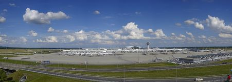 Aeroporto di Monaco di Baviera, Baviera, Germania Immagine Stock Libera da Diritti
