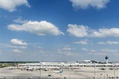 Aeroporto di Monaco di Baviera Fotografie Stock