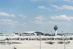 Aeroporto di Monaco di Baviera Fotografia Stock