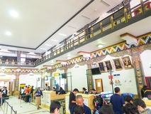Aeroporto di Paro nel Bhutan Fotografie Stock