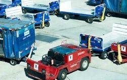 Aeroporto di San Antonio - aeroplani sulla rampa Immagine Stock