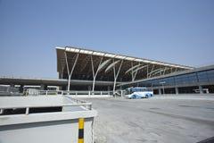 Aeroporto di Schang-Hai Pudong Immagini Stock