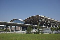 Aeroporto di Schang-Hai Pudong Fotografia Stock