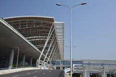 Aeroporto di Schang-Hai Pudong Fotografie Stock Libere da Diritti