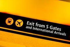 Aeroporto di Seatac Fotografia Stock