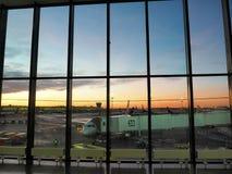Aeroporto di Sheremetyevo fotografia stock libera da diritti